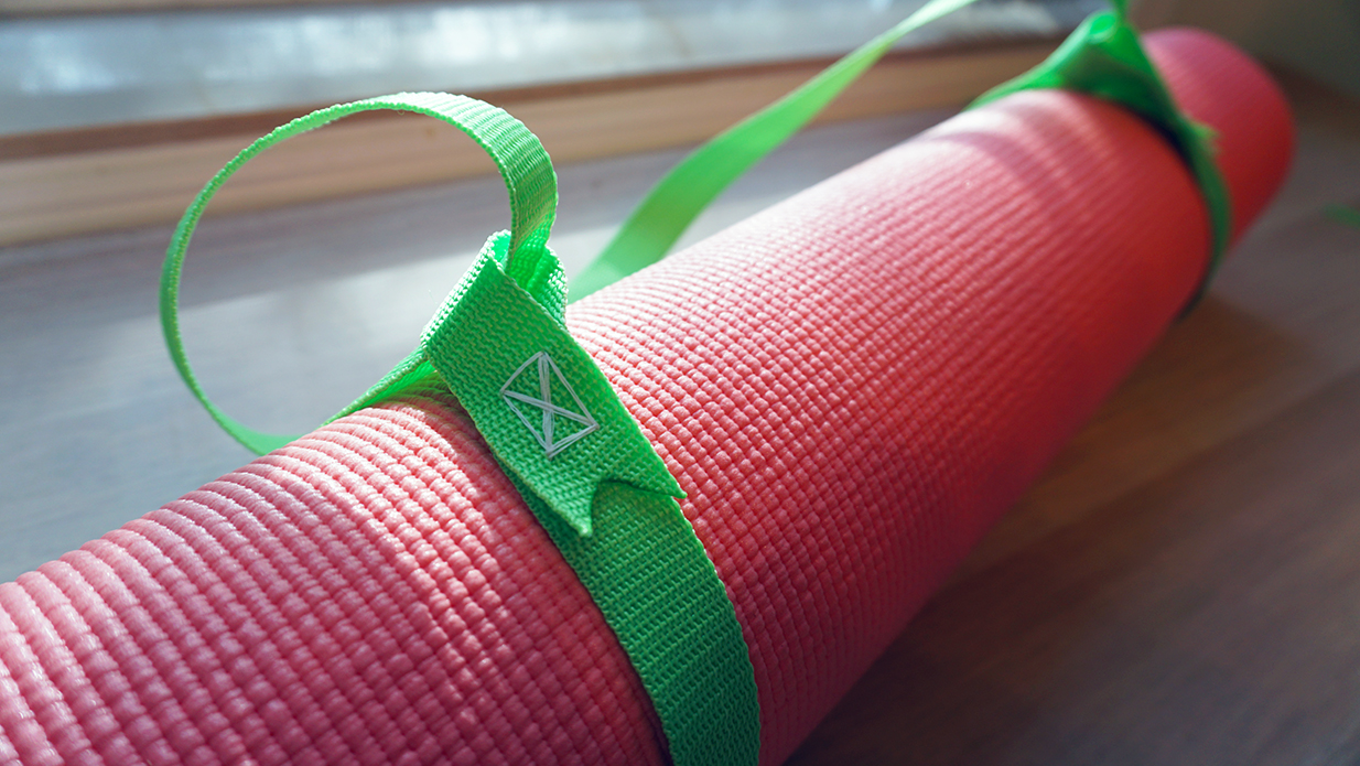 Diy Yoga Mat Sling And Yoga Strap For Under 5 Saturate Life